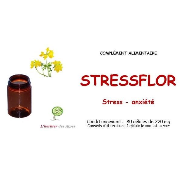 Gélules de stressflor