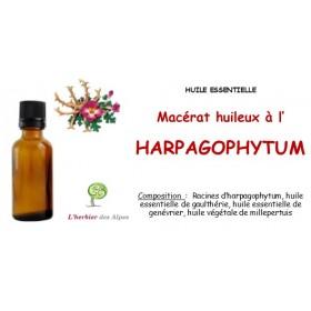 Macérat huileux à L'HARPAGOPHYTUM