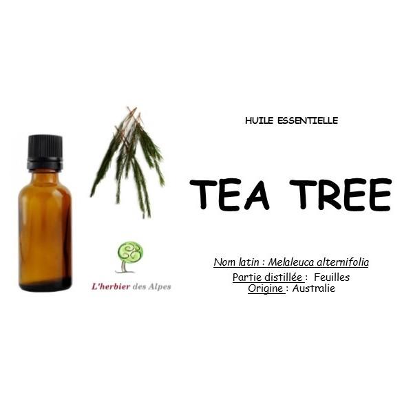 Huile essentielle de tea tree