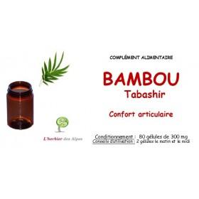 Bambou tabashir gélules