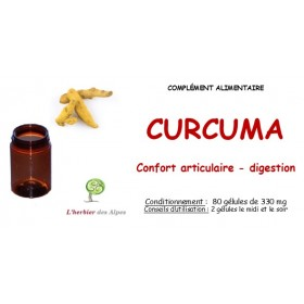 Curcuma gélules