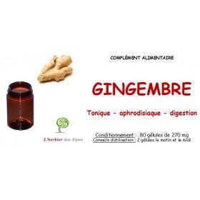 Gélules de gingembre